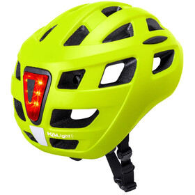 Kali Central Fietshelm, matte neon yellow